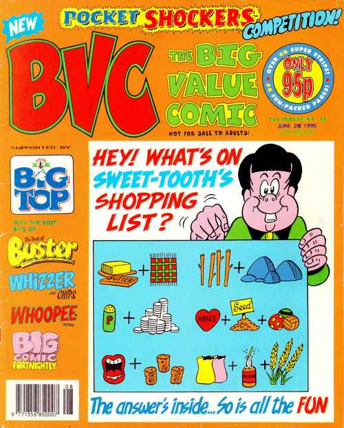 Big Value Comic | British Comics