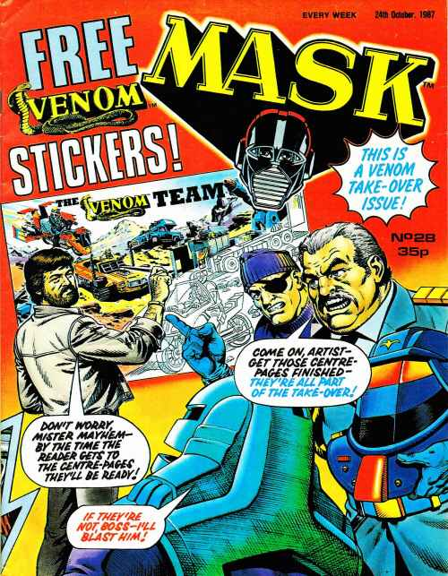 mask british comics