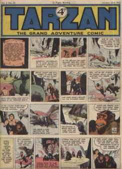 Tarzan   British Comics